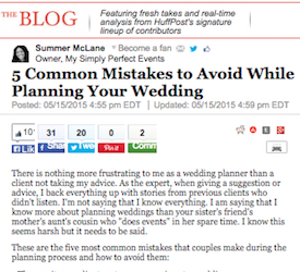 5 Common Mistakes to Avoid While Planning Your Wedding