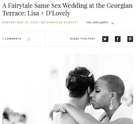 A Fairytale Same Sex Wedding