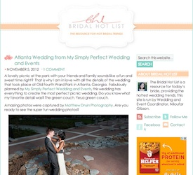 Atlanta Wedding From My Simply Perfect Events