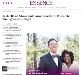 Bridal Bliss: Adwoa and Haigo Found Love When The Timing Was Just Right