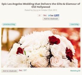 Epic LA Wedding Delivers The Glamour Of Old Hollywood