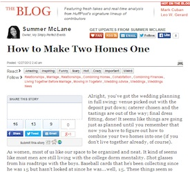 How To Make Two Homes One