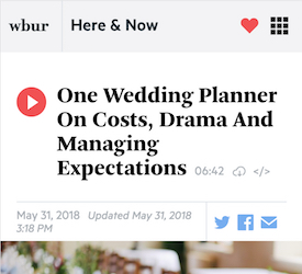 One Wedding Planner On Costs, Drama And Managing Expectations