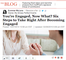 You're Engaged, Now What? Six Steps to Take Right After Becoming Engaged